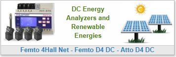 DC Energy Analyzers and Renewable Energies